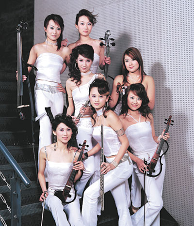 Have any chinese girl bands fucking horny!